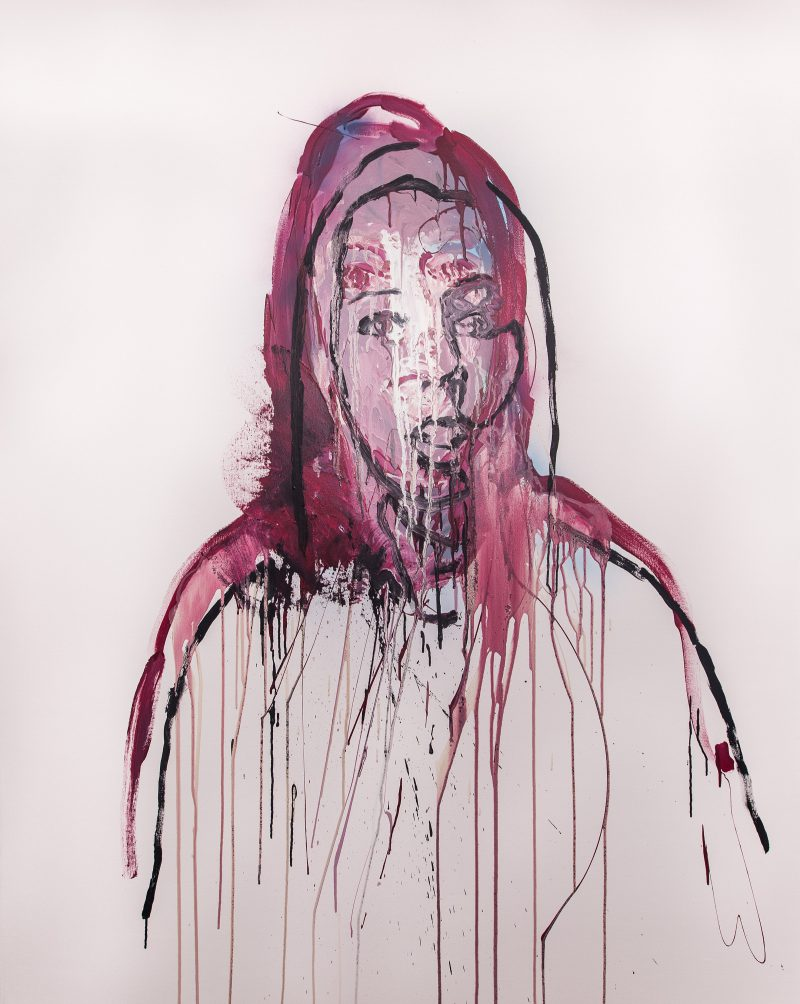 Benjamin Aitken, Virginia 2014 synthetic polymer paint on canvas 180 x 140 cm