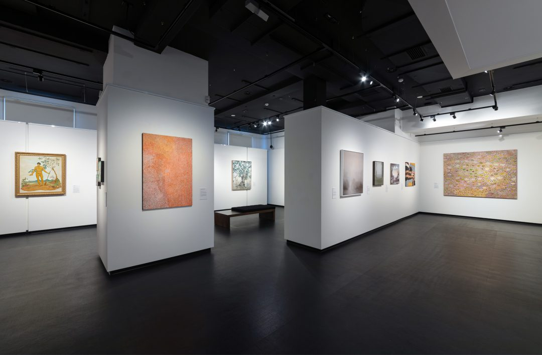 Installation view of the 2019 Bayside Acquisitive Art Prize finalist exhibition