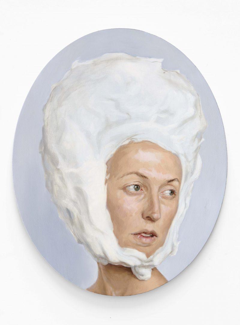 Celeste Chandler, The edge of feeling 1 2015 oil on linen 100 x 80 cm