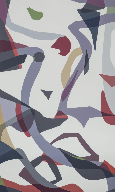 Jennifer Goodman, Ravel 2015 oil on linen 200 x 120 cm
