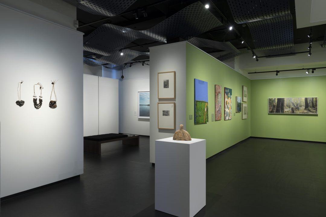 Installation view, Freshwater Saltwater, 2018