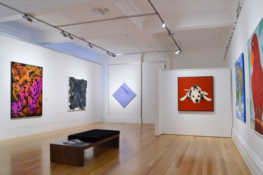 Installation view of the 2015 Bayside Acquisitive Art Prize finalist exhibition