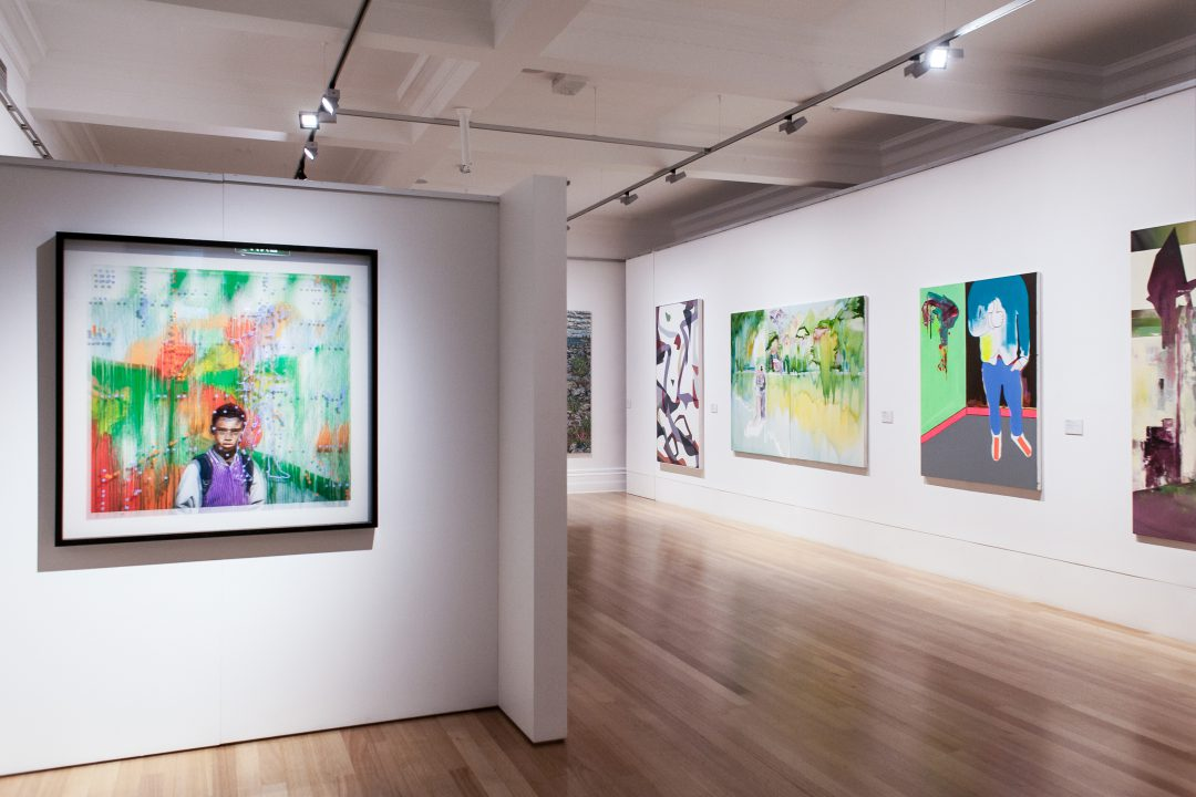 Installation view of the 2016 Bayside Acquisitive Art Prize finalist exhibition