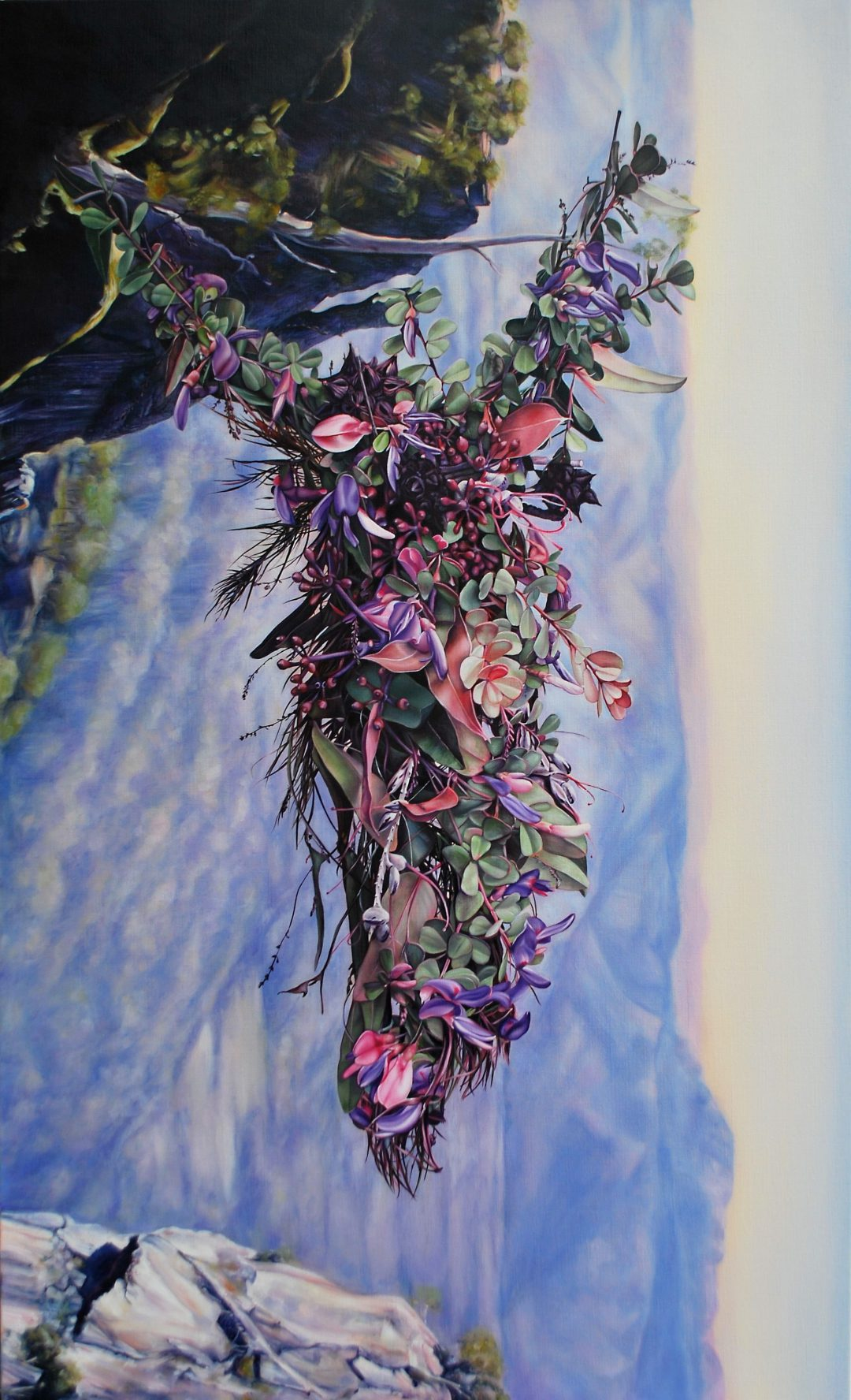 Gina Kalabishis, Arete no.3 2016 oil on linen 152 x 91 cm Winner of the 2017 People's Choice Prize