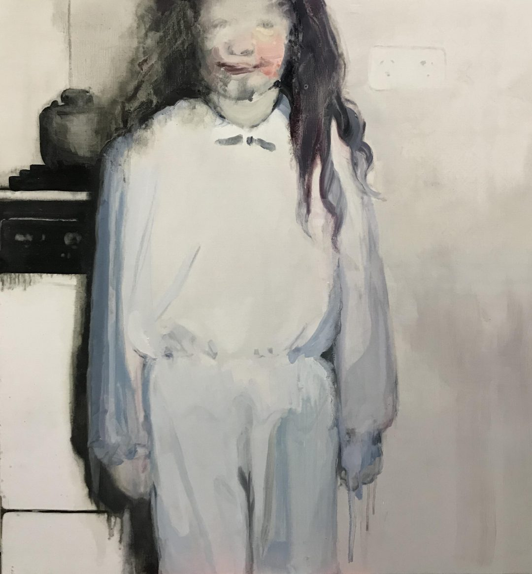 Fiona McMonagle, Toast with jam 2018 oil on linen 77 x 72.5 cm Winner of the 2019 Local Art Prize