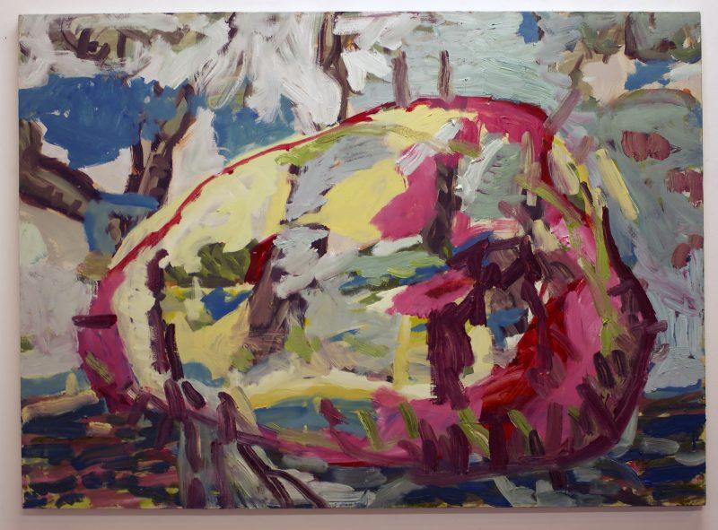 Phil Edwards, Medusa 2016 oil on canvas 122 x 92 cm