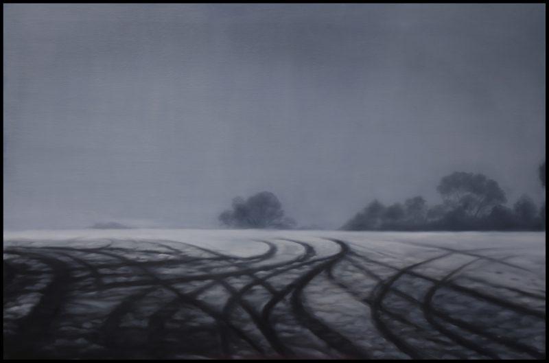 Camilla Radich, Impasse 2015 oil on linen 102 x 152 cm