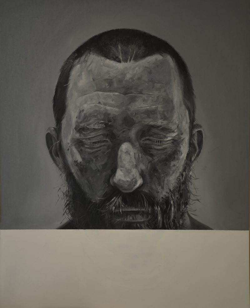 Matt Butterworth, Untitled (self) 2016 oil on canvas 150 x 120 cm