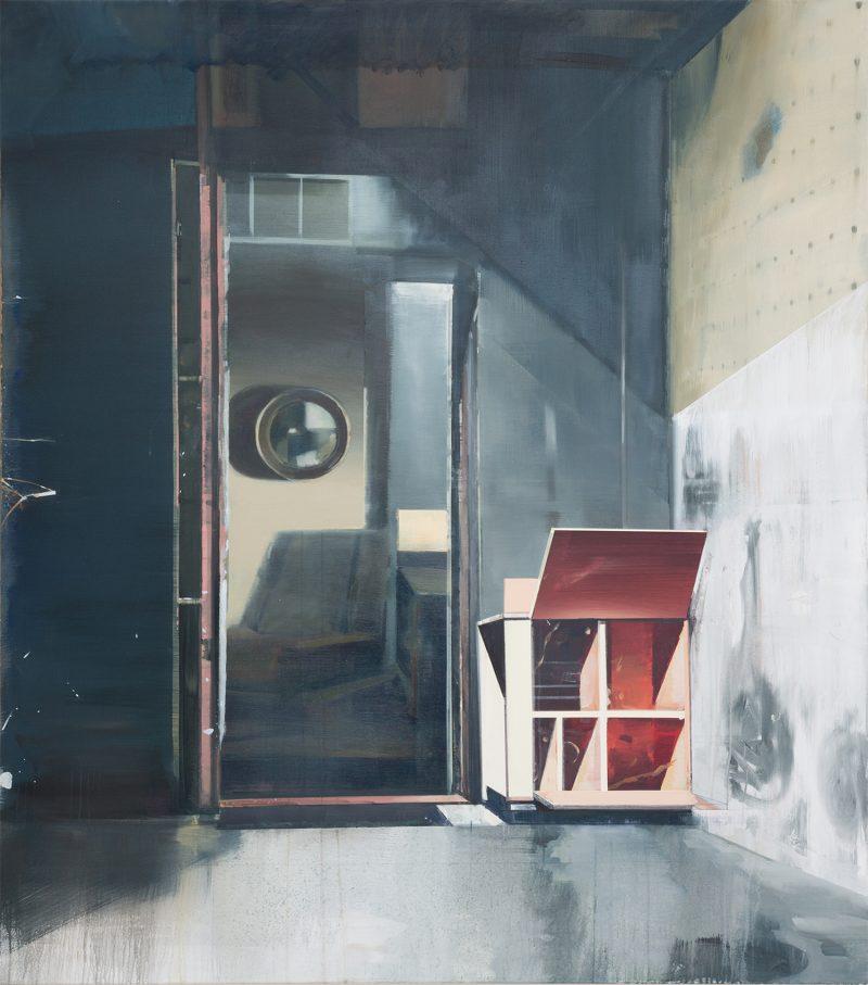 David Ralph, Open heart 2018-19 oil on canvas 170 ×150 cm